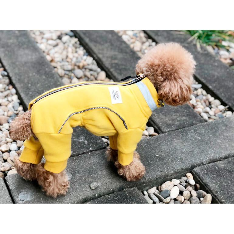 412 PA - Теплый коcтюм для собак на меховой подкладке для мальчиков