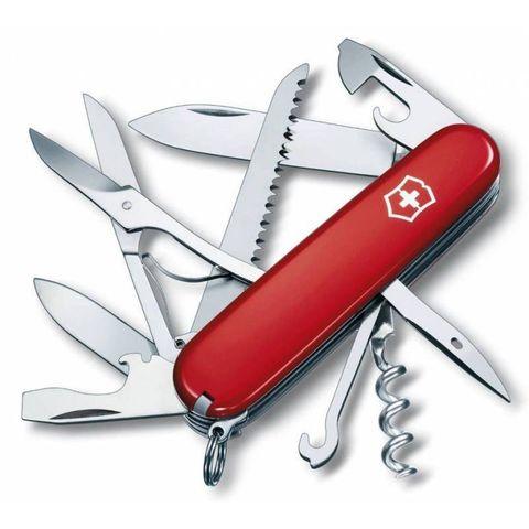 Нож перочинный Victorinox Huntsman (1.3713) 91мм 15функций красный