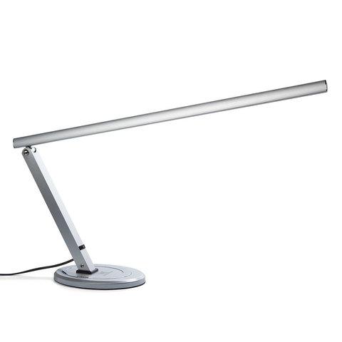 Светодиодная лампа TNL для рабочего стола - серебряная