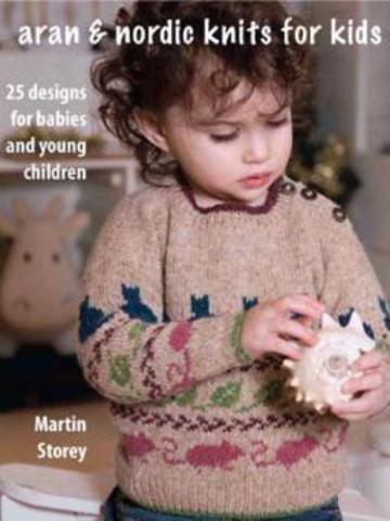 Книга Aran & Nordic Knits for Kids
