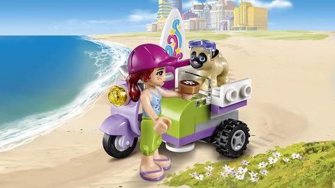 LEGO Friends: Пляжный скутер Мии 41306 — Mia's Beach Scooter — Лего Френдз Друзья Подружки