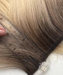 Лентирование волос для био, королевского наращивания
