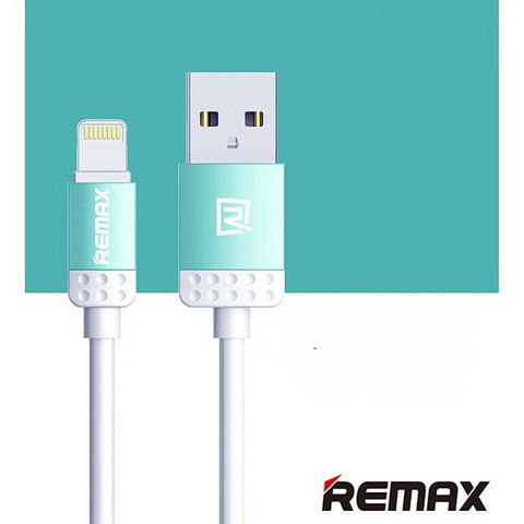 Кабель iPhone 5 Remax Lovely RC-010i blue (Original)
