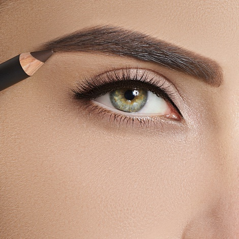 Карандаш для бровей Romanovamakeup Sexy Eyebrow Pencil Brunette
