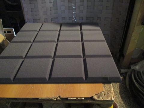 Акустический поролон Echoton Grid темно-серый - 1 шт.
