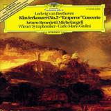 Arturo Benedetti Michelangeli, Wiener Symphoniker, Carlo Maria Giulini / Ludwig van Beethoven: Piano Concerto No. 5 In E-Flat Major, Op. 73 'Emperor' (LP)