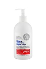 Антибактериальное жидкое мыло для рук Защита и увлажнение Natura Siberica