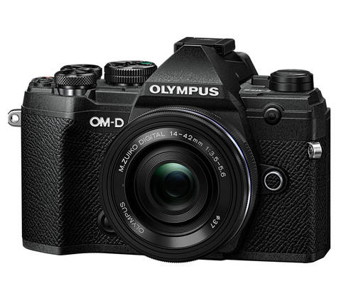 Olympus OM-D E-M5 Mark III Kit (14-42mm f/3.5-5.6 EZ) Black
