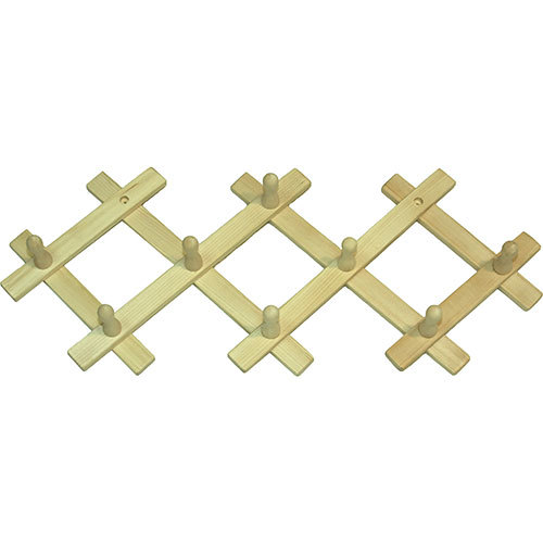 Вешалка-гармошка с 8 крючками