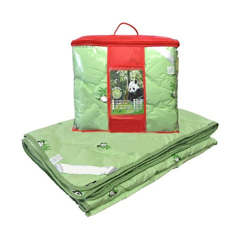 Одеяло бамбук 1,5-сп. с чехлом из тика (теплое)