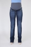 Джинсы для беременных (REGULAR) 09108 синий