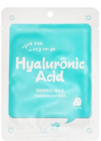MIJIN MJ CARE Маска тканевая с гиалуроновой кислотой MJ CARE Hyaluronic Acid Mask