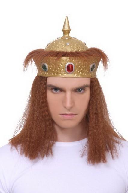 Корона Царя с волосами