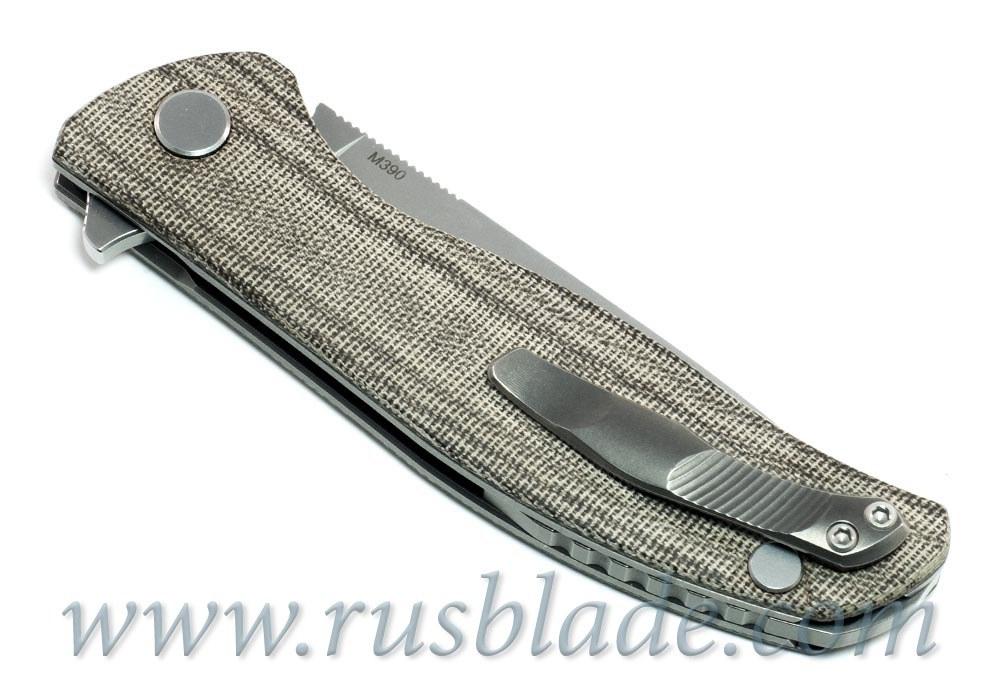 Shirogorov F3 M390 Micarta 3D Rolling