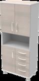 Шкаф медицинский общего назначения 2.02 тип 2 АйВуд Medical Office