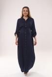 Платье для беременных 09450 зеленый
