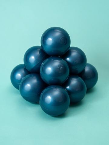 Шарики для сухого бассейна синий перламутр комплект 50 шт.