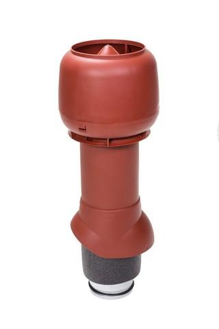 Вентиляционный выход 125 из 500 Vilpe красный