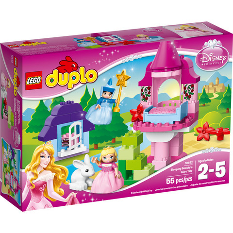 LEGO Duplo: Сказка о спящей красавице 10542 — Sleeping Beauty's Fairy Tale — Лего Дупло