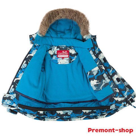 Зимний комплект Monty by Premont TW37203 Blue