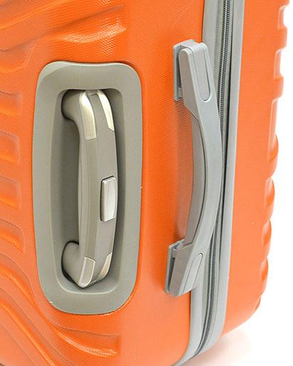Чемодан Ananda APL-833 Оранжевый (M)