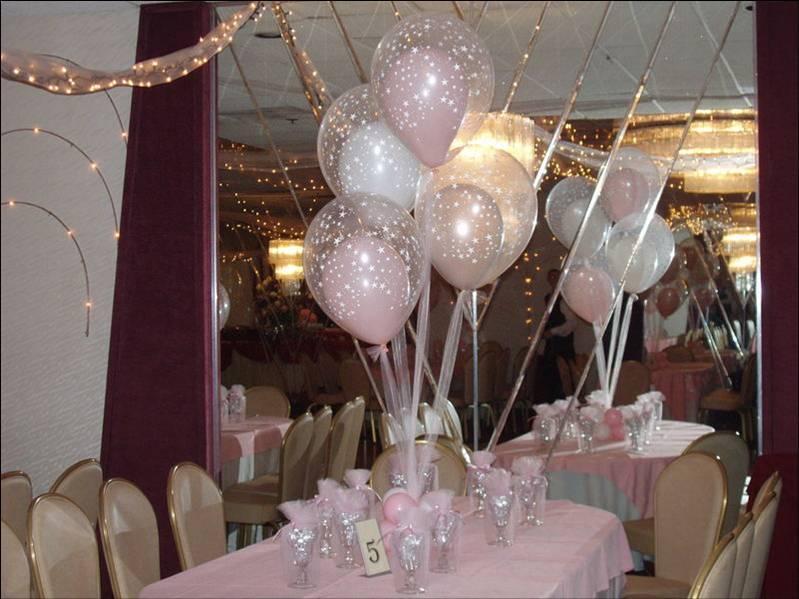 """Оформление шарами на Юбилей Фонтан из воздушных шаров на стол """"Нежность"""" 05fc39ec612ac3923feac91471448f54.jpg"""