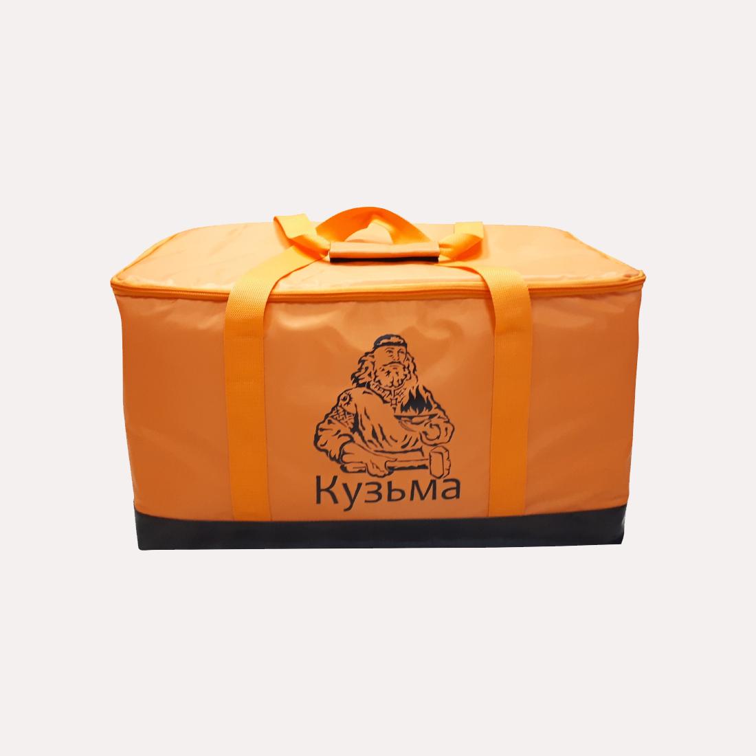 Сумка термос для теплообменника КУЗЬМА (оранжевая)