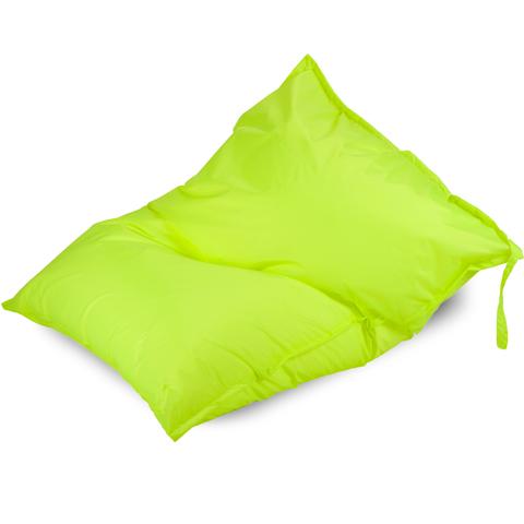Бескаркасное кресло «Подушка», Лайм