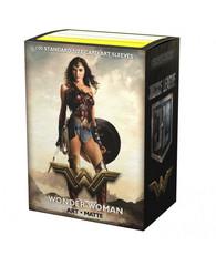 Dragon Shield - Матовые протекторы Justice League - Wonder Woman (100 штук)