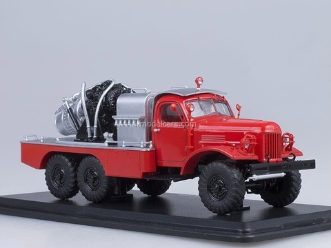 ZIL-157 AGVT-100 ChSPT red Start Scale Models (SSM) 1:43