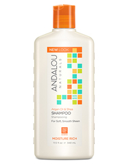 """Шампунь для увлажнения волос """"Аргановое масло и масло Ши"""", Andalou Naturals"""