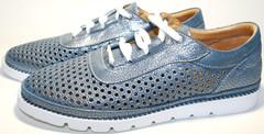 Летние туфли женские - кеды с перфорацией Rifellini Rovigo