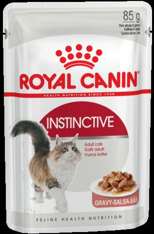 Instinctive (в соусе) - для кошек старше 1 года 85г.