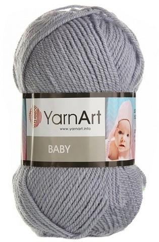 Пряжа YARNART BABY №195  серый