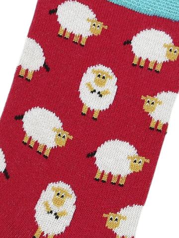 Носки с овечками