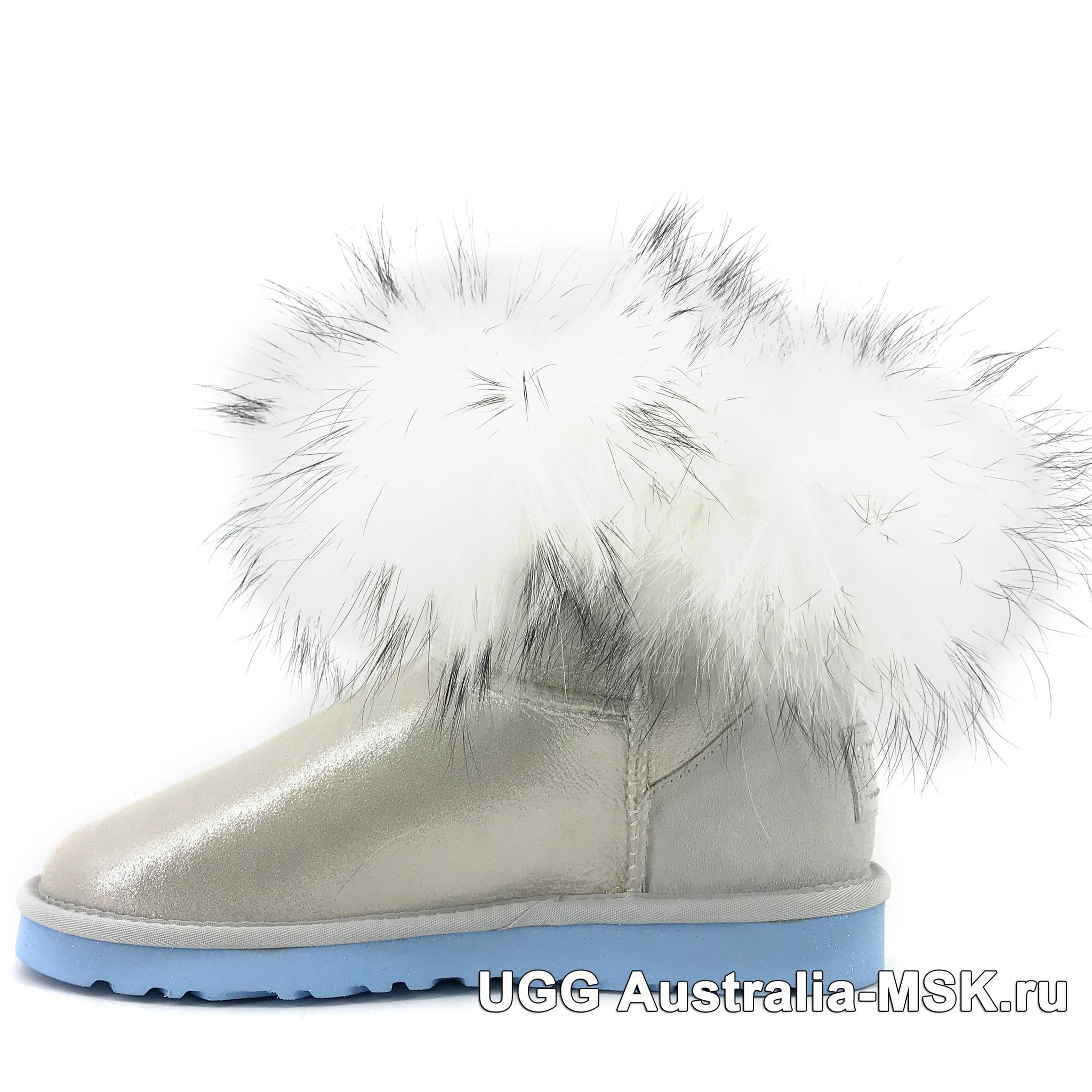 UGG Fox Fur Mini Metallic I Do