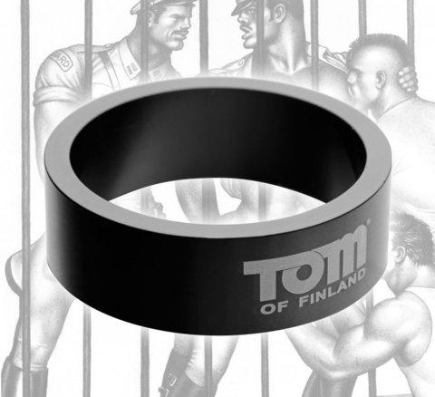 Эрекционное кольцо из металла Tom of Finland - 5 см