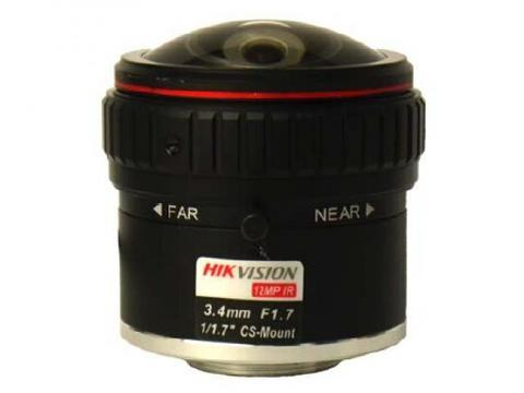 Объектив Hikvision HF3417D-12MPIR