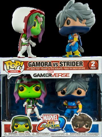 Funko POP! Vinyl 2-Pack: Capcom vs. Marvel: Gamora vs Strider || Гамора против Страйдера