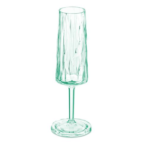Бокал для шампанского Koziol Superglas CLUB NO. 5, 100 мл, мятный