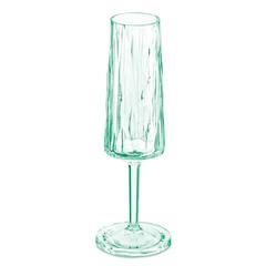 Бокал для шампанского Koziol Superglas CLUB NO. 5, 100 мл, мятный, фото 1