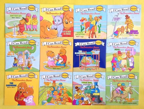 Я могу читать! I can read.  The Berenstain Bears:Batter Up!