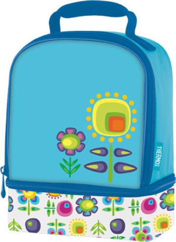 Термосумка детская Thermos Floral Dual (голубая)