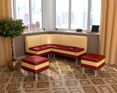 Набор мебели для кухни СЕКРЕТ-2 бордо / какао