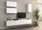 Гостиная модульная ЛИЯ-3 белый / белый глянец