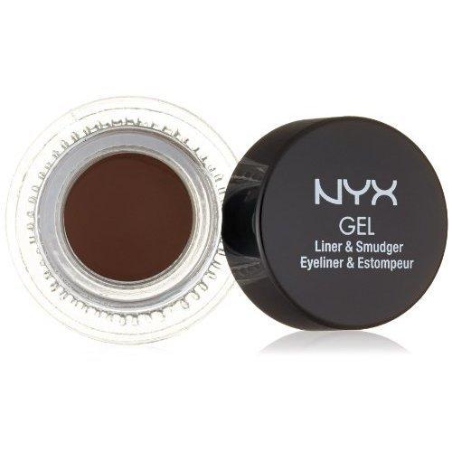 Подводка NYX гелевая коричневая