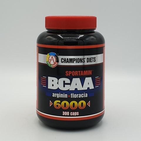 Аминокислотный комплекс BCAA 6000 СПОРТАМИН Академия-Т, 300 капс
