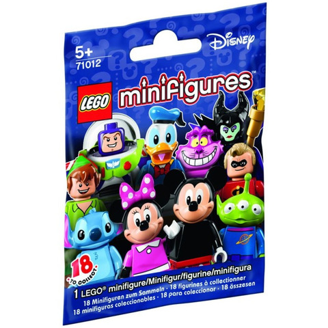 LEGO Minifigures: Минифигурки LEGO из серии Disney 71012 — Disney Minifigure Random Bag — Лего Минифигурки