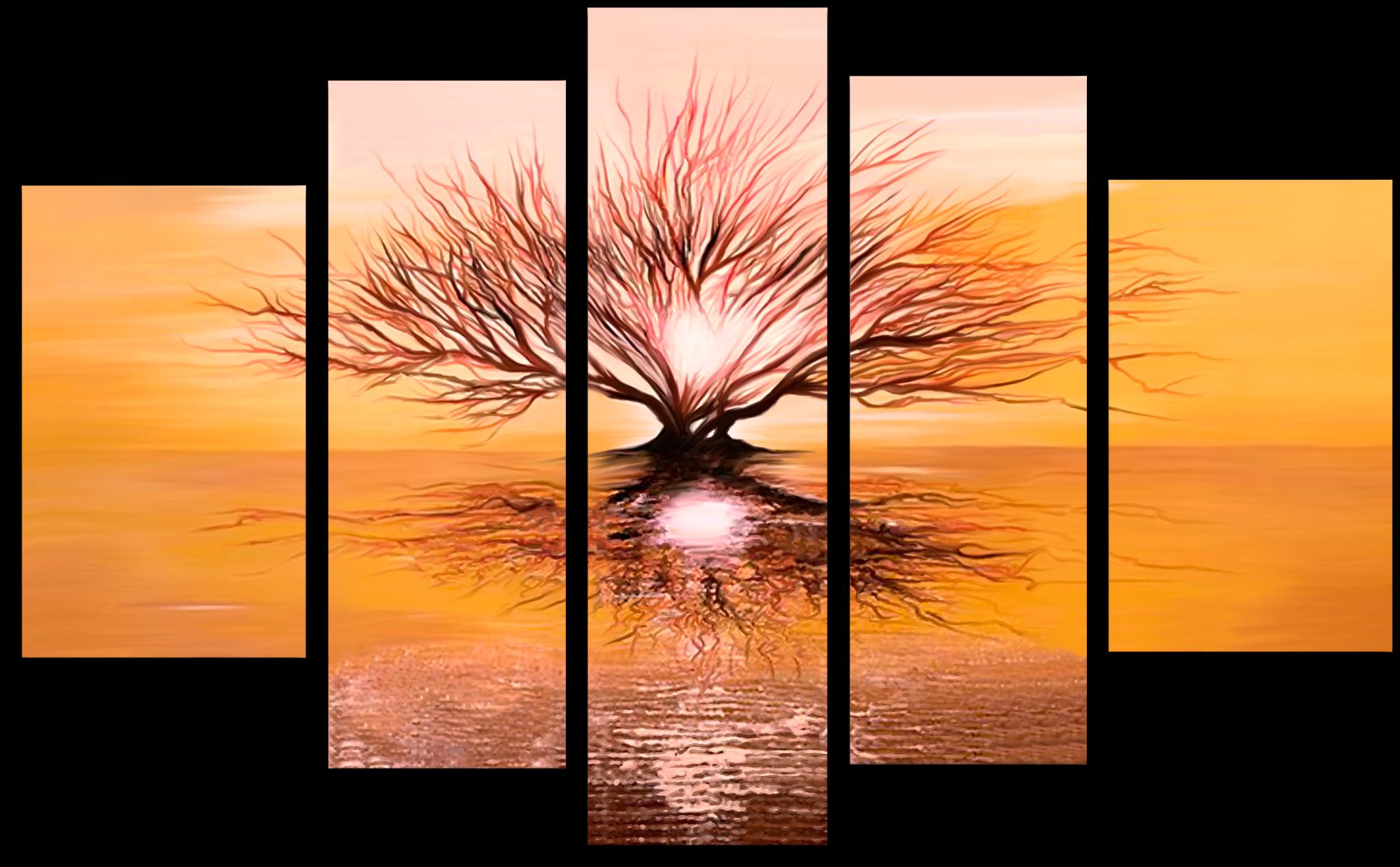 """Модульные картины Модульная картина """"Солнечный свет"""" М95.png"""