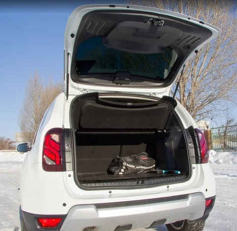 Обивка крышки багажника Дастер